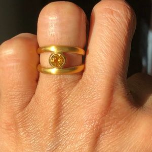 Satya  Citrine Ring